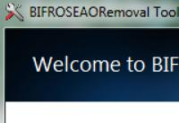 Screenshot programu BINJO Removal Tool 1.0