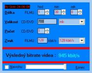 Screenshot programu Bitrate