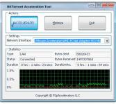 Screenshot programu BitTorrent Acceleration Tool 2.6.0
