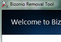 Screenshot programu Bizonio Removal Tool 1.0