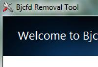 Screenshot programu Bjcfd Removal Tool 1.0