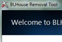 Screenshot programu BLHouse Removal Tool 1.0