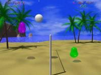 Screenshot programu Blobby Volley  1.8
