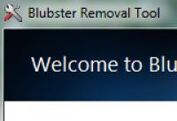 Screenshot programu Blubster Removal Tool 1.0