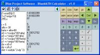 Screenshot programu BlueMATH Calculator 1.2