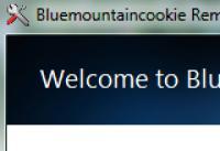 Screenshot programu Bluemountain cookie Removal Tool 1.0