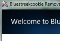 Screenshot programu Bluestreak cookie Removal Tool 1.0