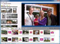 Screenshot programu Bolide Slideshow Creator 1.4 Build 1015