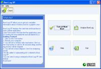 Screenshot programu BootLog XP 2.5