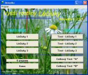 Screenshot programu Botanika - Zelená příroda 3.0