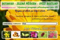 Screenshot programu Botanika - Zelená příroda 2.0.5