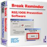 Screenshot programu Break Reminder 3.8.4