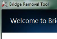 Screenshot programu Bridge Removal Tool 1.0