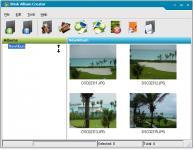 Screenshot programu Brisk Album Creator 1.0