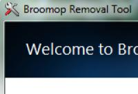 Screenshot programu Broomop Removal Tool 1.0