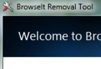 Screenshot programu Browselt Removal Tool 1.0