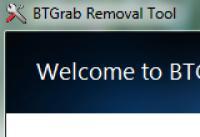 Screenshot programu BTGrab Removal Tool 1.0