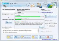 Screenshot programu DRPU Bulk SMS 6.0.1.4