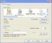 Screenshot programu BullZip PDF Printer 9.1.0.1454