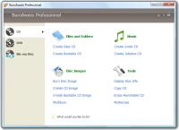 Screenshot programu BurnAware Professional 8.5