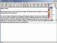 Screenshot programu Business Translator 9.21