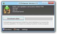 Screenshot programu CCEnhancer 4.4