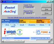 Screenshot programu CT AutoSurf 1.0