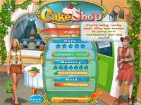 Screenshot programu Cake Shop 1.0
