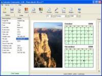 Screenshot programu Calendar Commander  2.15