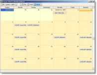 Screenshot programu Calendar Express 1.0.3.6