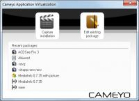 Screenshot programu Cameyo 2.0.882.0