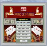 Screenshot programu Casino Dice Games CZ 2.0.0.00