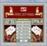 Screenshot programu Casino Dice Games EN 2.1.0.00
