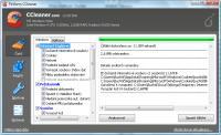 Screenshot programu CCleaner čeština 4.10.4570