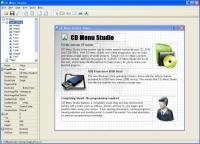 Screenshot programu CD Menu Studio 3.0.1.33