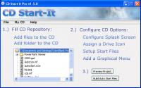 Screenshot programu CD Start-It Pro 1.5.0