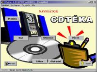 Screenshot programu CDTéka & CDPlayer 1.4