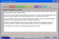 Screenshot programu Čeština pro konfiguraci Tux Paintu 0.0.12