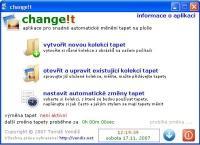 Screenshot programu change!t 3.1.3