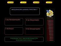 Screenshot programu Chcete být Simpsonologem?