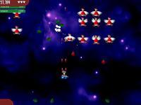 Screenshot programu Chicken Invaders
