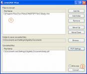 Screenshot programu CHM2PDF Pilot 2.16.96