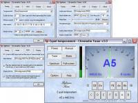 Screenshot programu Chromatia Tuner 3.4