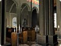 Screenshot programu Church 3D Screensaver 1.0