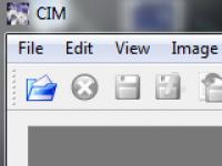 Screenshot programu CIM 0.96a