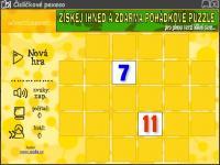 Screenshot programu Čísličkové pexeso 1.0