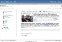Screenshot programu Claroline 1.10.6