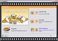 Screenshot programu CloneDVD 2.9.3.0
