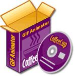 Screenshot programu CoffeeCup GIF Animator  7.5