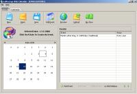 Screenshot programu CoffeeCup Web Calendar 5.0 Build 3